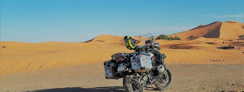 resoconto di un viaggio in moto in Marocco