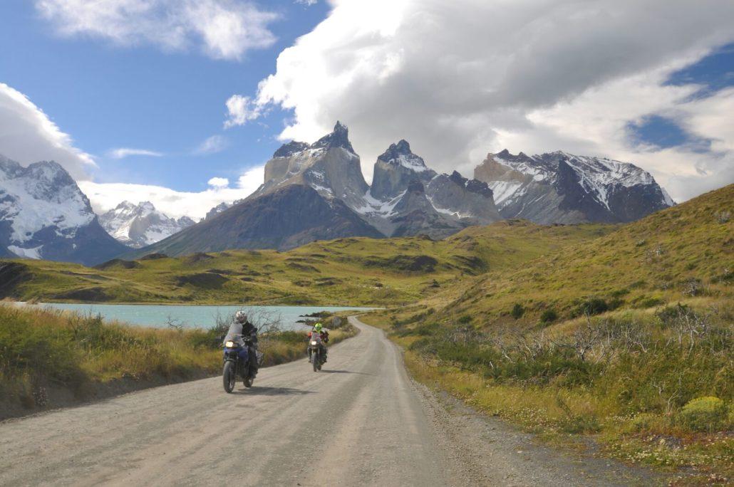 Extremo Sur in moto